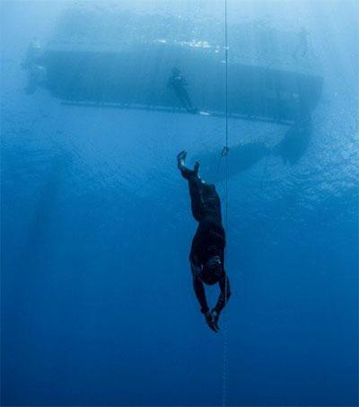 Freediver William Trubridge Gets Deep
