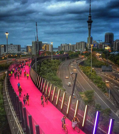 Nelson St Cycleway Shortlisted for World Architecture Awards