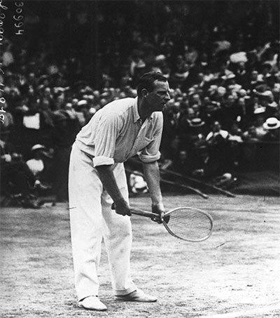 Wimbledon's Anthony Wilding a Superstar of his Day