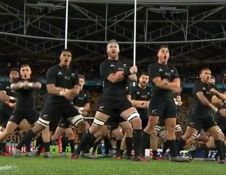 All Blacks vs. Australia Haka