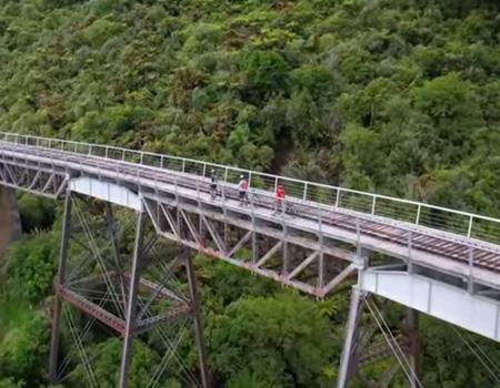 Mountains to Sea Cycle Trail, Ruapehu