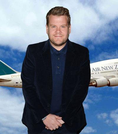 Air NZ Invites James Corden to Host Cockpit Karaoke