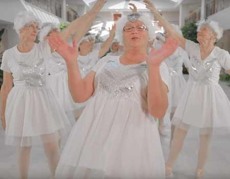 NZ Seniors 'Shake It Off'