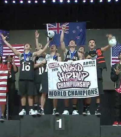 NZ Hip-Hop Dance Crew Wins Gold