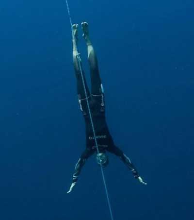 Human Dolphin William Trubridge
