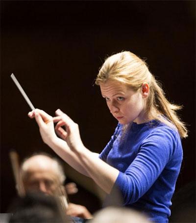 Conductor Gemma New Makes Music Holistic