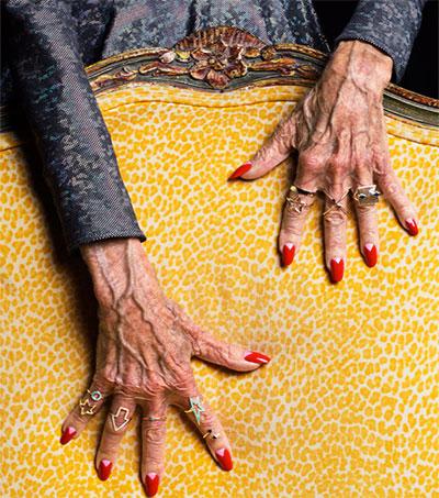 Karen Walker's Jewels Shine on Magical Hands