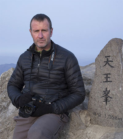 Roger Shepherd Promotes Charms of Korea