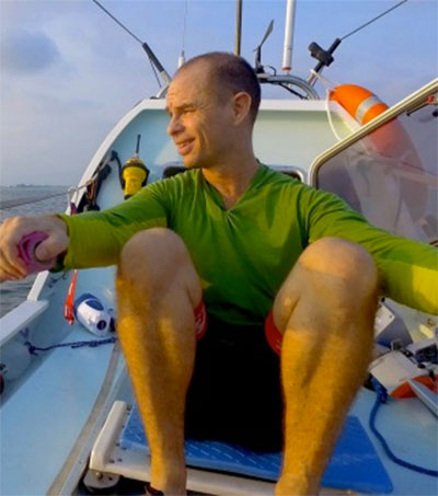 Grant Rawlinson to Row from Singapore to NZ