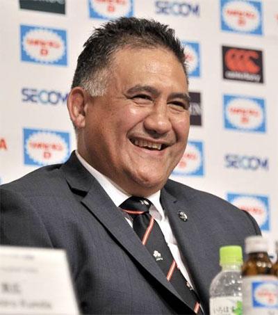 Japan's Brave Blossoms Welcome Coach Jamie Joseph