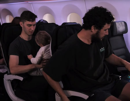 How to Dad – How to Fly With A Baby