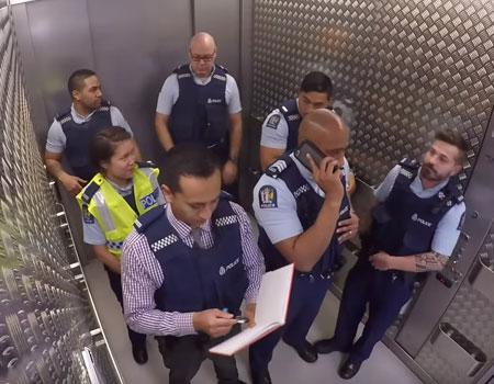 NZ Police – Elevator Cops