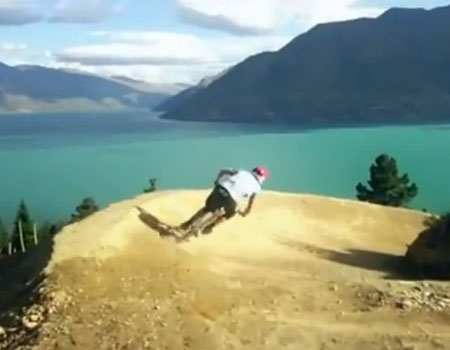A Downhill Rider's Paradise