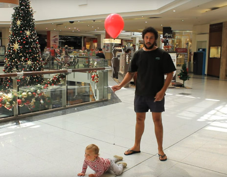 How to Dad – Christmas Shopping with a Baby