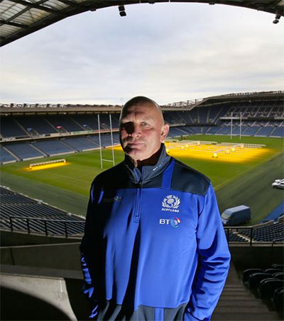 Rugby Boss Vern Cotter Says Scotland on the Up