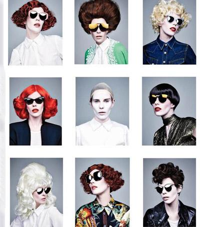 Karen Walker Shapeshifts For New Eyewear Campaign