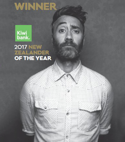 Taika Waititi named New Zealander of the Year