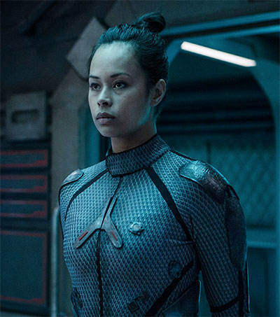 Frankie Adams the Unfindable Expanse Actress