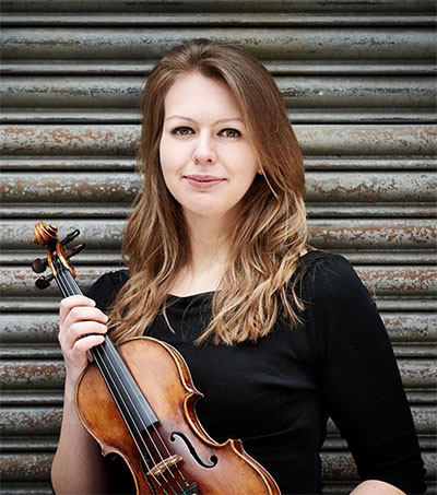 Violinist Alexandra Lomeiko Performs in Worthing