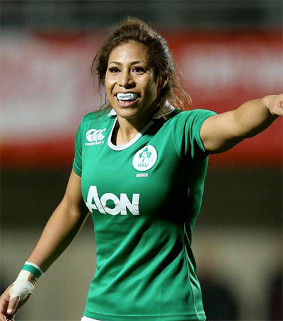 Rugby's Sene Naoupu Makes Irish Times Top 30 List