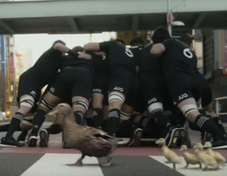 All Blacks Tackle The Risk in Tokyo
