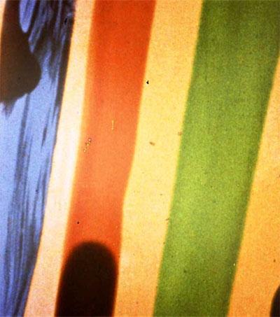 Len Lye's Film A Colour Box is Jazz Visualised