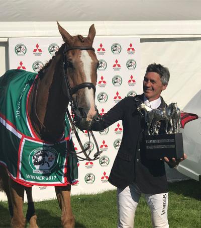 Andrew Nicholson Wins Badminton Horse Trials