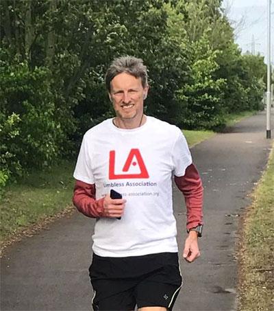Richard McChesney Walks 44 Hours Nonstop