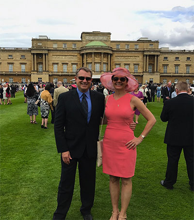 Greg Agnew Invited to Tea With the Queen