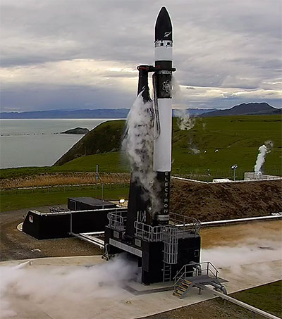 NZ Launches Into Space Race With 3D-Printed Rocket
