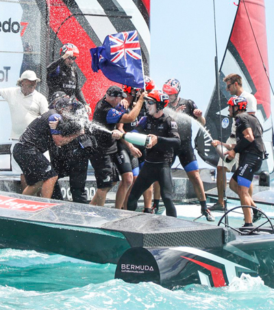 Emirates Team New Zealand Reclaim America's Cup