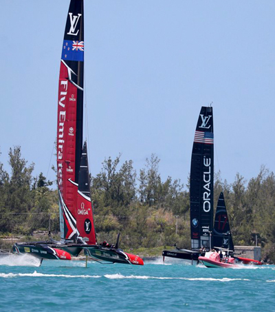 Innovation Helps Emirates Team New Zealand Take 3-0 Lead In America's Cup