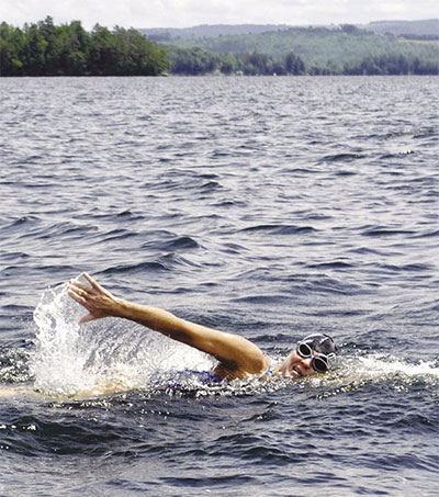 Open Water Swimmer Charlotte Brynn Loves Adventure