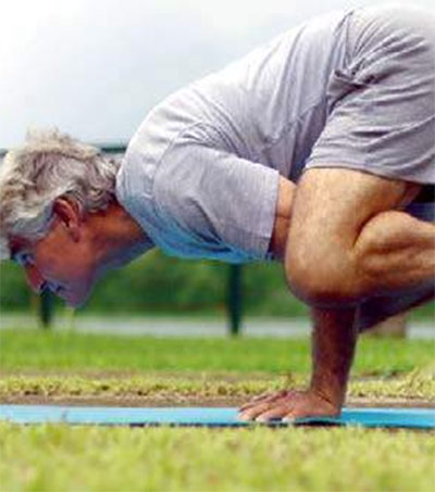 Tony Aidney Has a Growing Passion for Yoga
