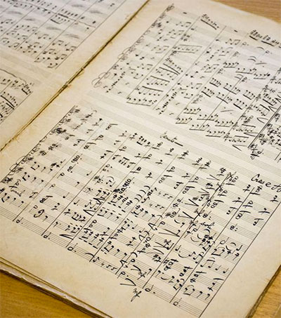 Lost Gustav Holst Scores Turn Up in Tauranga