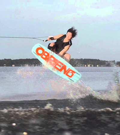 Morgan Haakma Wins Amateur Wakeboarding Title