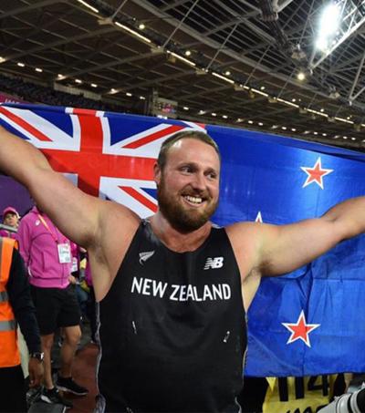 Tom Walsh Wins Gold at World Championships