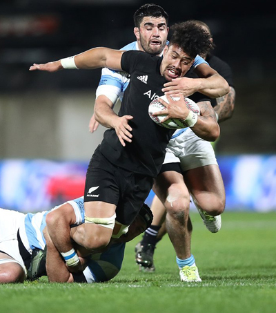 Vaea Fifita Rescues All Blacks with Solo Try