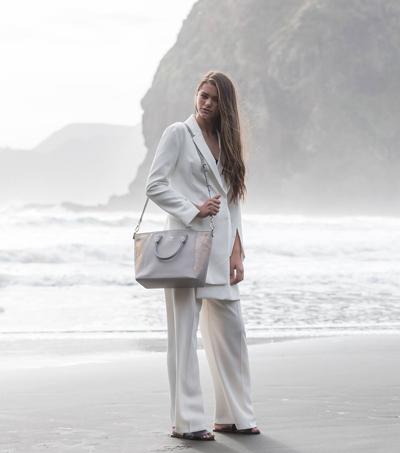 Designer Creates Handbags From Unusual Material