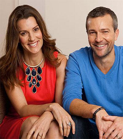 Sara Wiseman and Craig Hall Acting Up Together