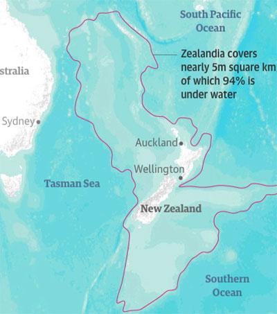Drilling Reveals Secrets of Sunken Lost Continent