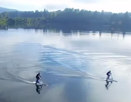 Manta 5 – Riding On Water