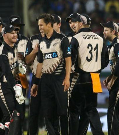 New Zealand Beat India by 40 Runs