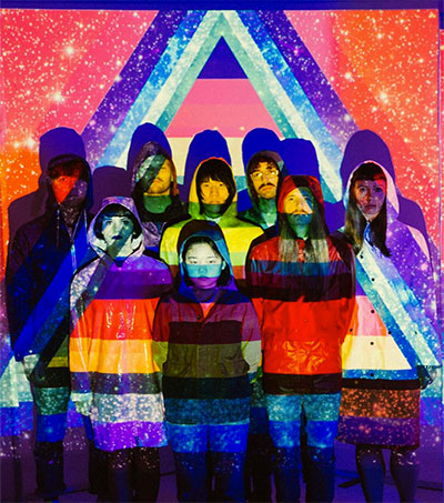 Superorganism Push Pop Into the Next Dimension