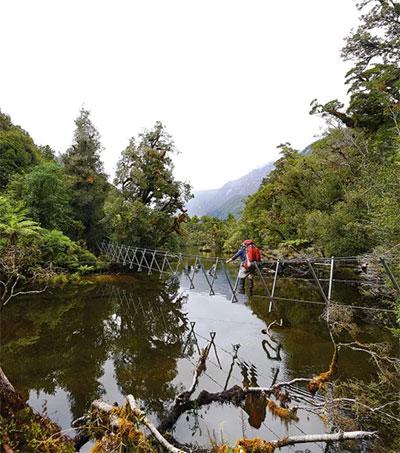 Exploring New Zealand's Deserted Dusky Track
