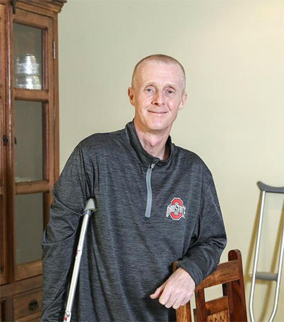 UAE-Based Professor Nick Ashill Back on His Feet