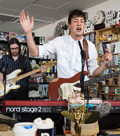 Magnetic Marlon Plays Brilliant Tiny Desk Session