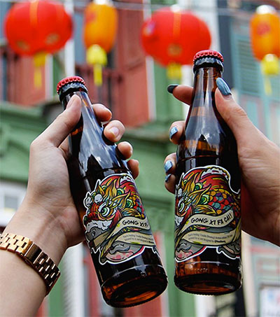 Trouble Brewing Collaborates for Chinese New Year