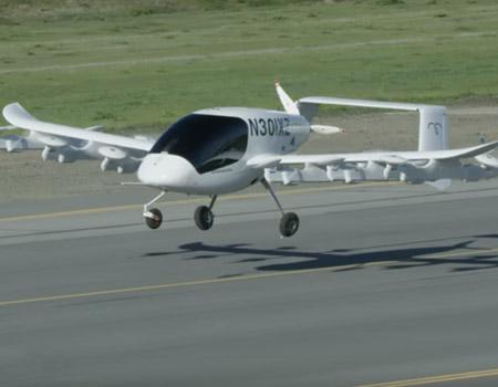 Meet Kitty Hawk's Flying Taxi Cora