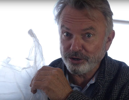 Sam Neill and the Plastic Bag